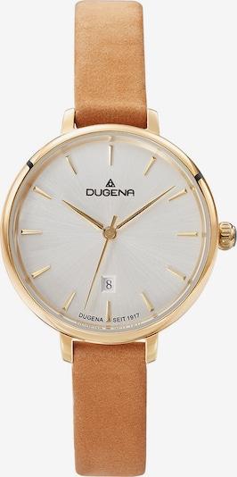 DUGENA Uhr in hellbraun / gold, Produktansicht