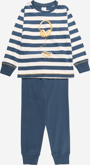 s.Oliver Pajamas in Dusty blue / Yellow / White, Item view