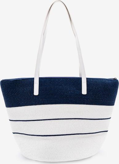 Kamoa Shopper in dunkelblau / naturweiß, Produktansicht