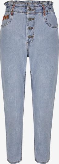 Blue Monkey Highrise-Jeans Jacky in blau, Produktansicht