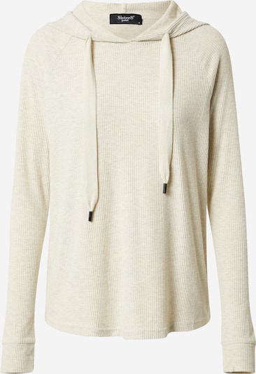 SISTERS POINT Pullover 'Verna Hood 1' in beige, Produktansicht
