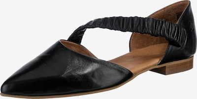 Paul Vesterbro Leder Klassische Slipper in schwarz, Produktansicht