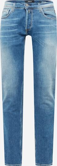 REPLAY Jean 'GROVER' en bleu denim, Vue avec produit