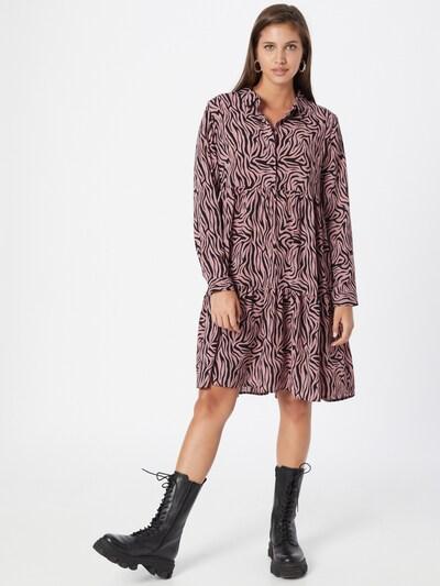 JDY Shirt Dress 'Piper' in Pink / Black, View model