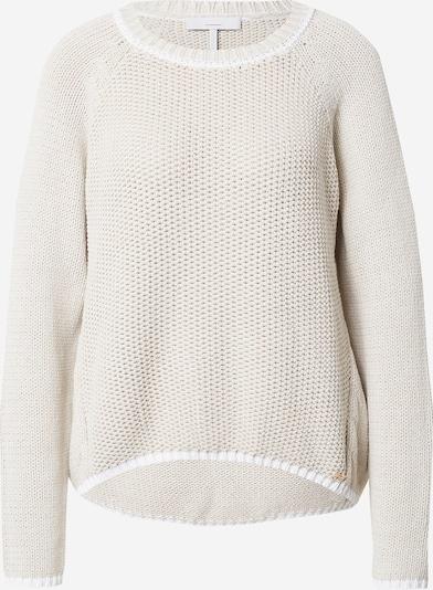 CINQUE Pullover 'SASKIA' in beige / weiß, Produktansicht