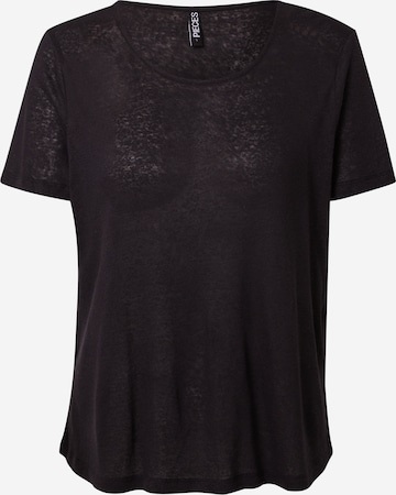 PIECES T-Shirt 'PHOEBE' in Black