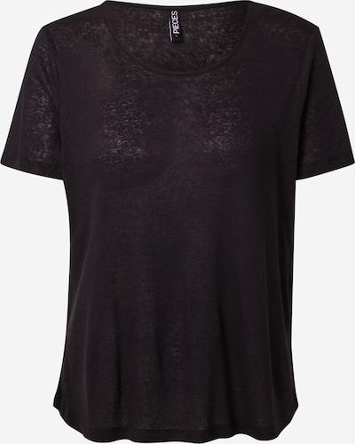 PIECES Shirt 'PHOEBE' in de kleur Zwart, Productweergave