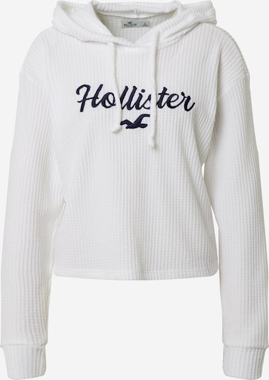 HOLLISTER Sweater in Night blue / White, Item view