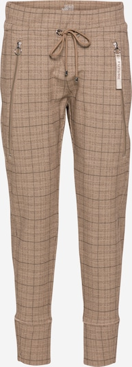 MAC Pantalon 'FUTURE' en marron / noisette / noir, Vue avec produit