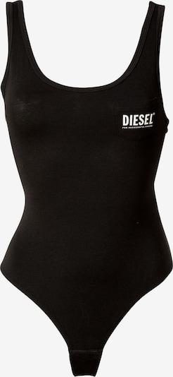 DIESEL Shirt body in de kleur Zwart / Wit, Productweergave