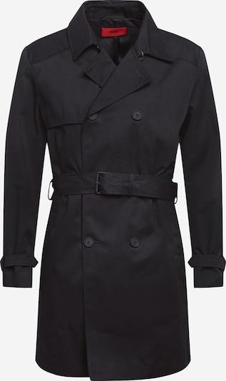 HUGO Overgangsfrakke 'Maluks 2041' i sort: Frontvisning