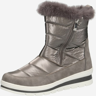 CAPRICE Boots in Taupe / Silver grey, Item view