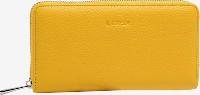 L.CREDI Brieftasche in gelb, Produktansicht
