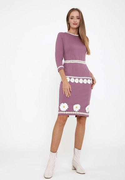 Madam-T Kleid 'Recana' in pink, Modelansicht