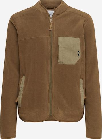 Kronstadt Fleece Jacket 'Hayes' in Brown
