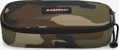 EASTPAK Étui en marron / gris basalte / vert / vert clair, Vue avec produit