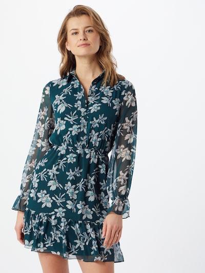 Trendyol Kleid in türkis / grau / schwarz, Modelansicht