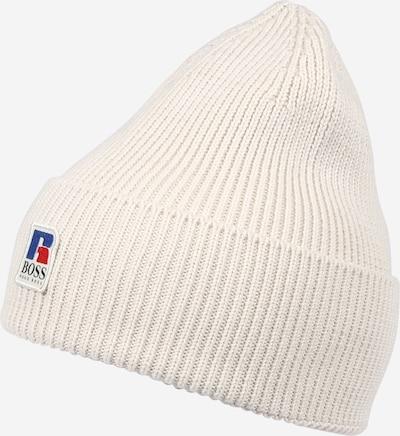 BOSS Casual Mütze 'Fussel Russell Athletic' in beige, Produktansicht