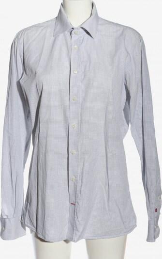 PUR Langarmhemd in M in schwarz / weiß, Produktansicht