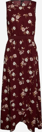 VERO MODA Kleid 'VMTALLIE' in hellpink / weinrot / weiß, Produktansicht