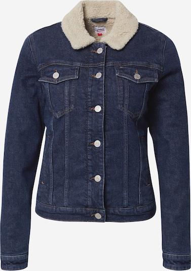 Tommy Jeans Jacke in dunkelblau / wollweiß, Produktansicht