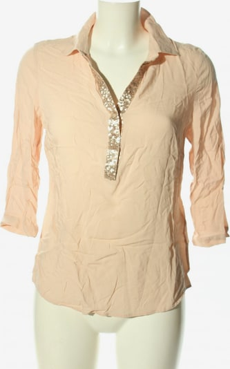 COMMA Langarm-Bluse in M in creme / gold, Produktansicht