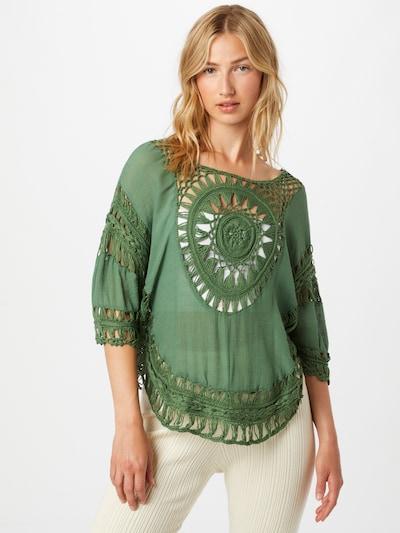 zöld Hailys Blúz 'Anny', Modell nézet