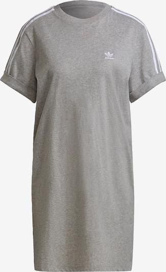 ADIDAS ORIGINALS Kleid in grau / weiß, Produktansicht