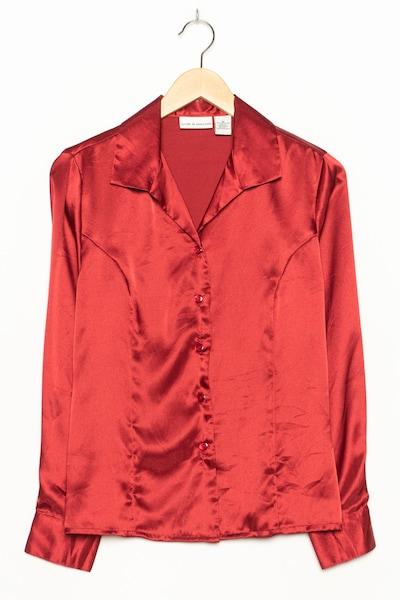 Croft & Barrow Bluse in S-M in rubinrot, Produktansicht