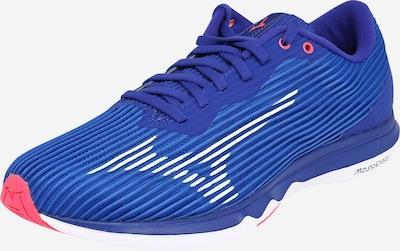 MIZUNO Chaussure de course en bleu / rose / blanc, Vue avec produit