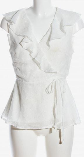 Fashion Union Wickel-Bluse in M in creme, Produktansicht