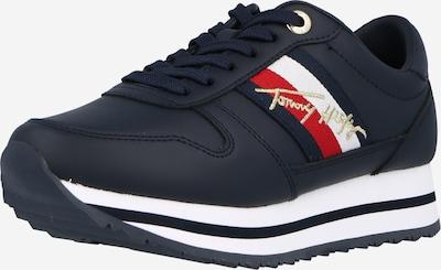 Sneaker low TOMMY HILFIGER pe albastru închis / auriu / roșu / alb, Vizualizare produs