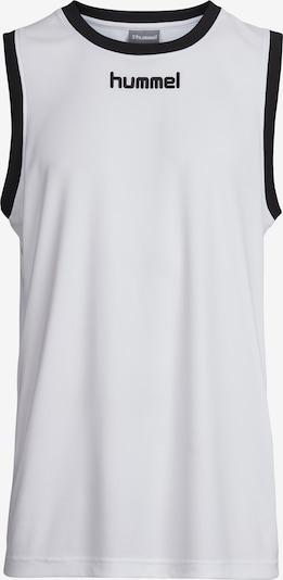 Hummel Funktionsshirt in schwarz / weiß, Produktansicht