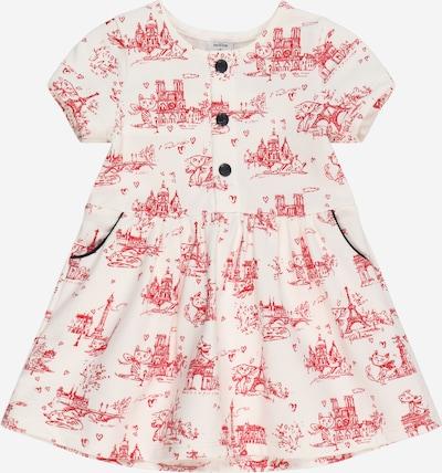 PETIT BATEAU Kleid in rot / weiß, Produktansicht
