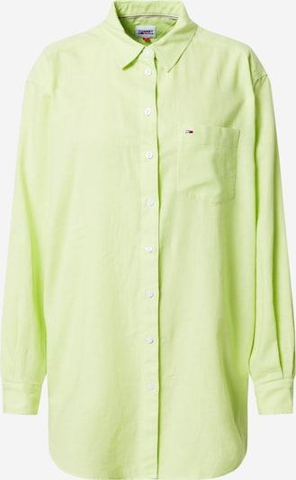 Bluză Tommy Jeans pe limetă, Vizualizare produs