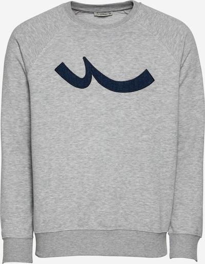 LTB Sweatshirt 'GORIBA' in dunkelblau / graumeliert, Produktansicht