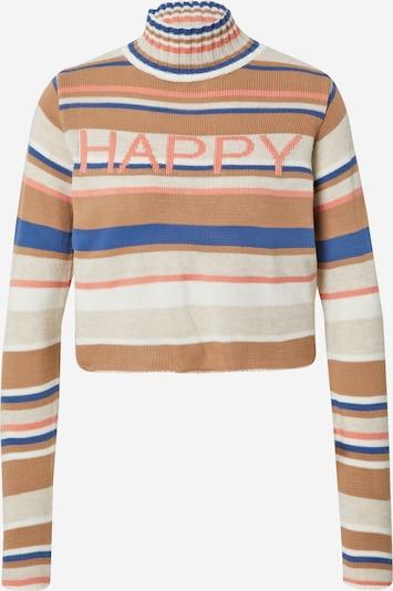 Trendyol Sweater in Cream / Camel / Blue / Peach, Item view