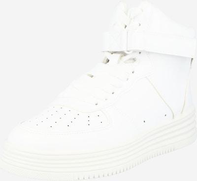 Missguided Sneakers hoog in de kleur Wit, Productweergave