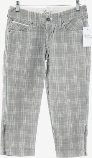 LEVI'S 3/4-Hose in S in grau / rosa / weiß, Produktansicht