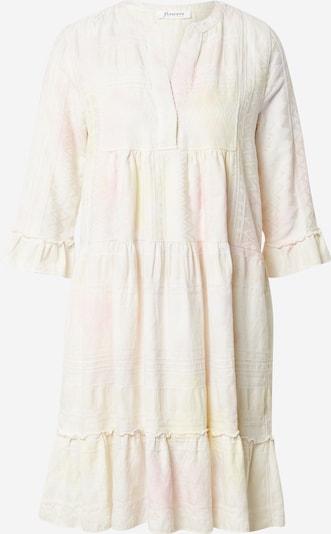 Flowers for Friends Robe en jaune pastel / rose / blanc, Vue avec produit
