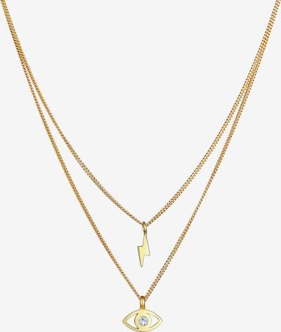 ELLI Halskette Blitz, Evil Eye in gold, Produktansicht