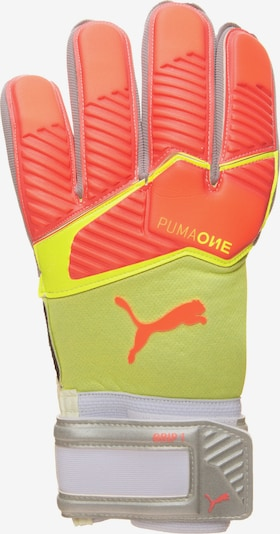 PUMA Torwarthandschuh 'One Grip 1 RC' in neongelb / neonorange, Produktansicht
