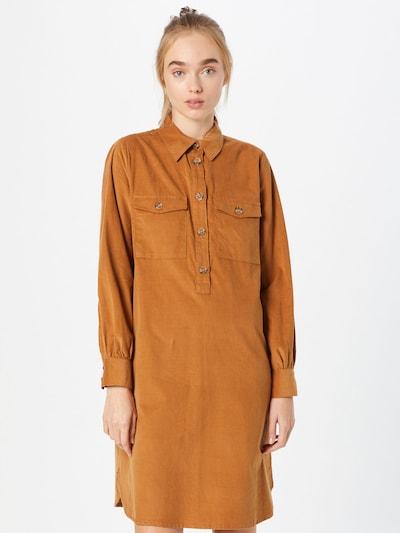 b.young Shirt Dress 'DINIA' in Cognac, View model