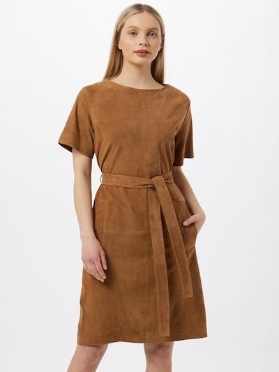 BOSS Casual Šaty 'Syranda' - béžová, Model/-ka