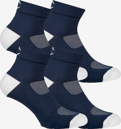 Champion Authentic Athletic Apparel Sneakersocken ' 4er-Pack Ankle Socks Performance ' in navy / weiß, Produktansicht