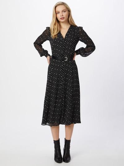 MICHAEL Michael Kors Sukienka koszulowa w kolorze czarny / białym, Podgląd na modelu(-ce)