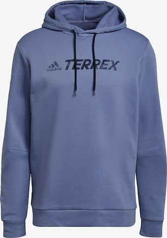 adidas Terrex Sportsweatshirt in Lila