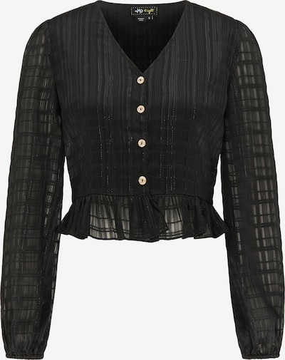 myMo at night Blouse in de kleur Zwart, Productweergave
