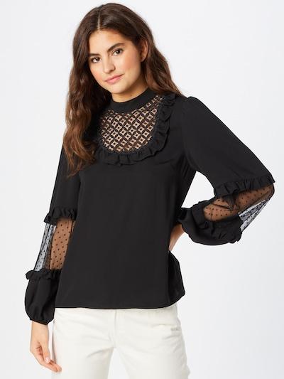 River Island Bluse in schwarz, Modelansicht