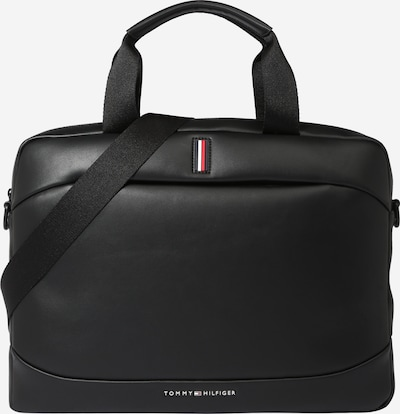 TOMMY HILFIGER Soma portatīvajam datoram 'METRO' melns, Preces skats